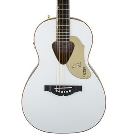 Gretsch G5021 Rancher Penguin Parlor Acoustic-Electric Guitar - White