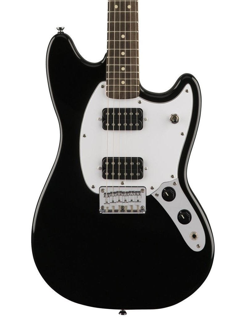 Fender Squier Bullet Mustang HH Electric Guitar - Black