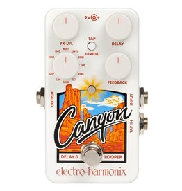Electro-Harmonix EHX Canyon Delay and Looper Pedal