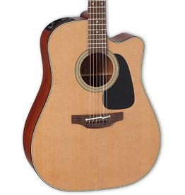 Takamine Pro Series 1 Dreadnought Solid Cedar Top, Sapele Back and Sides w/Electronics