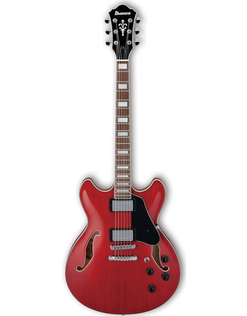 Ibanez AS73 Artcore Electric Guitar  - Transparent Cherry Red