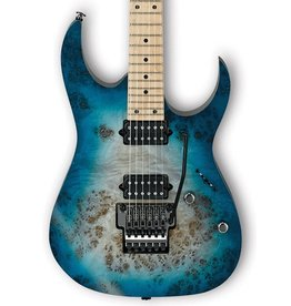 Ibanez RG652MPB Prestige Electric Guitar w/Case - Ghost Fleet Blue Burst