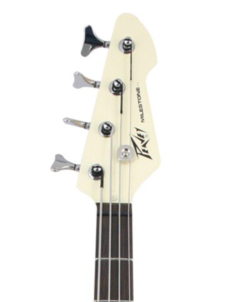 Peavey Peavey Milestone Electric Bass Guitar - Ivory