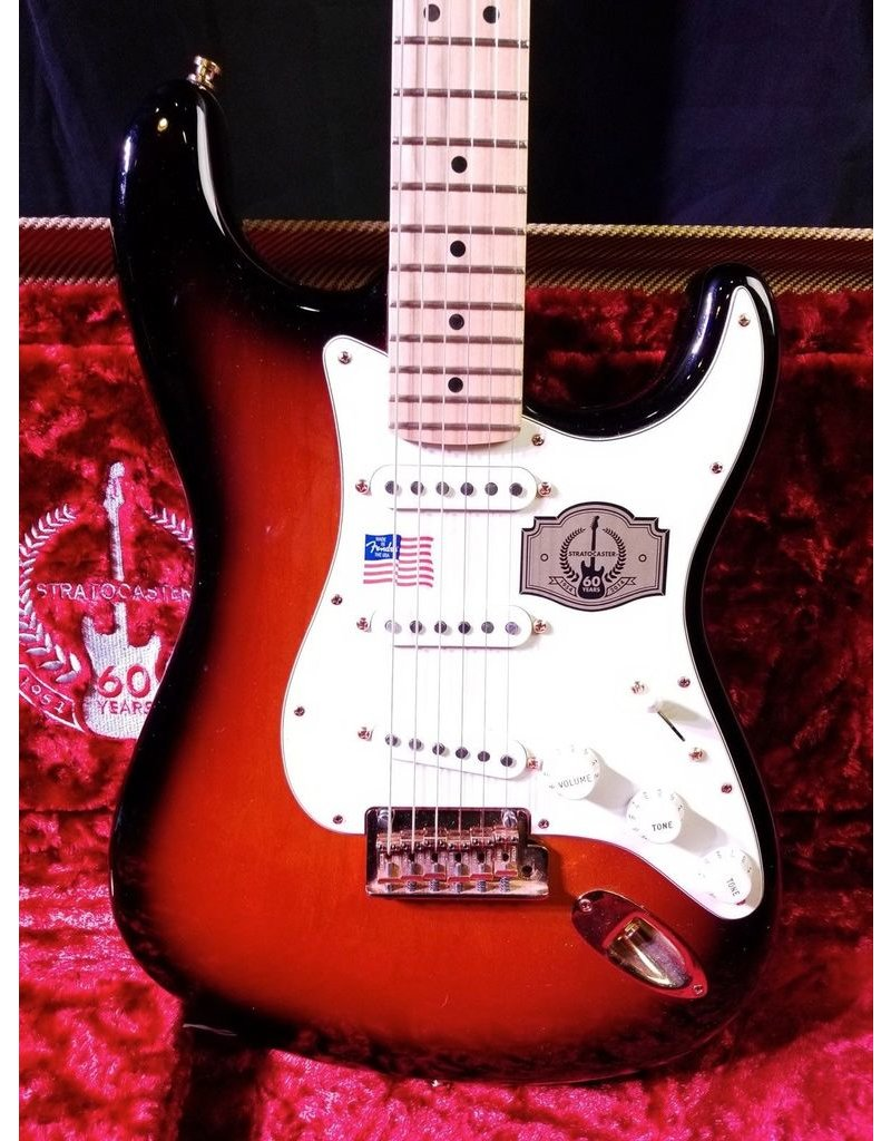 Fender Used Fender 60th Anniversary American Standard Strat- 2 Color Sunburst w/ Original Tweed Hardshell Case