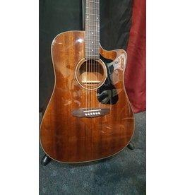 Used Guild D-125CE A/E Guitar- Natural Mahogany