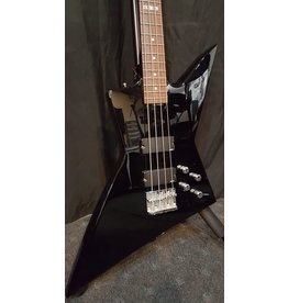 Used LTD EX-104 Electric Bass Guitar- Black