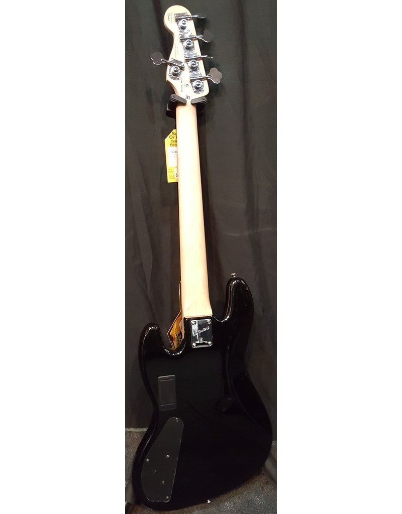 Demo Fender Squier Deluxe Jazz Bass Active V 5 String- Black