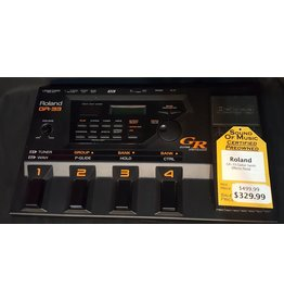 Roland Used Roland GR-33 Guitar Synth Effects Pedal w/ Cable, Power Adapter and GK-2A Synth Pickup