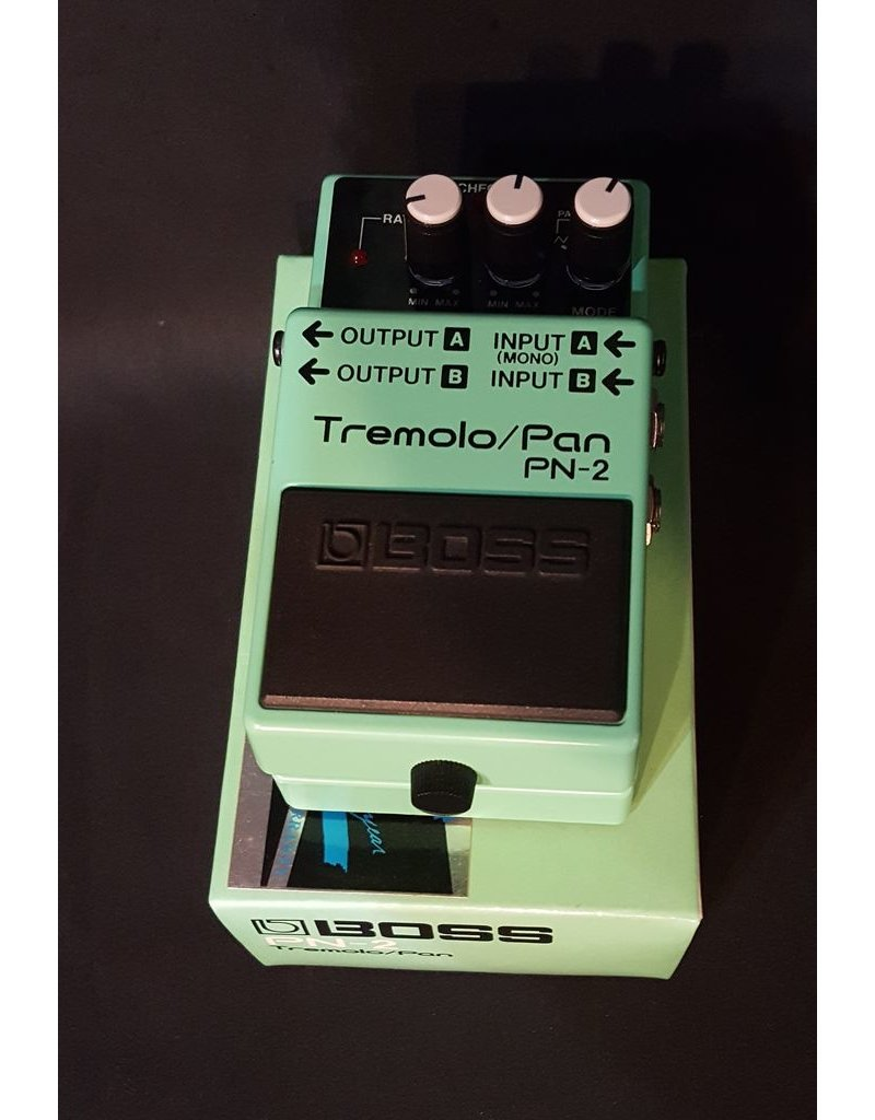 Boss Vintage Boss PN-2 Tremolo/Pan Pedal w/ Stereo In/Outs