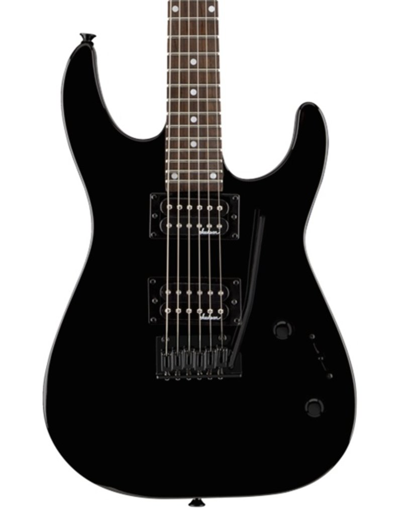 Jackson JS12 Dinky™, Rosewood Fingerboard, Gloss Black