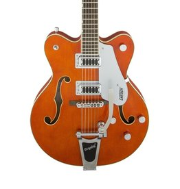 Gretsch Gretsch G5422T Electromatic Hollow Body Double-Cut with Bigsby-Orange Stain
