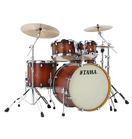 Tama TAMA Silverstar 5pc Shell Kit- Antique Brown Burst Finish