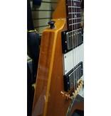Used Epiphone Korina Flying V - Natural w/ Hardshell Case
