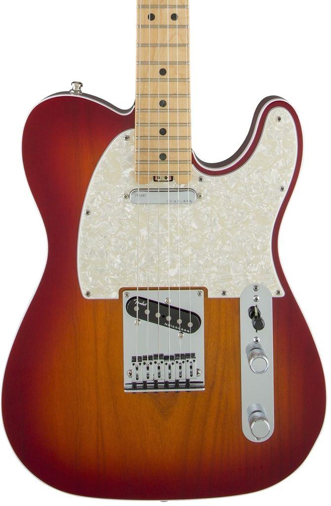 Fender American Elite Telecaster®, Maple Fingerboard, Aged Cherry Burst
