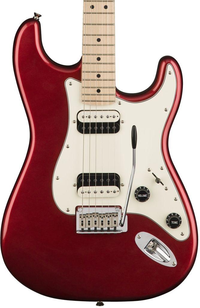 Squier Contemporary Stratocaster® HH, Maple Fingerboard, Dark Metallic Red