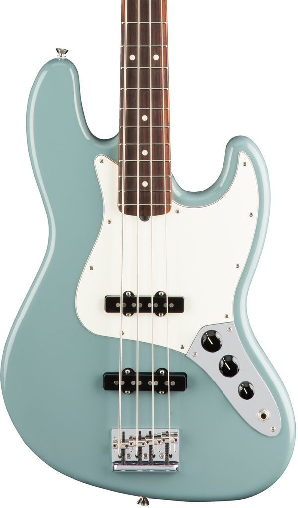 Fender American Pro Jazz Bass®, Rosewood Fingerboard, Sonic Gray
