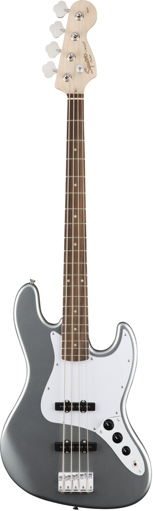 Squier Affinity Series™ Jazz Bass®, Slick Silver