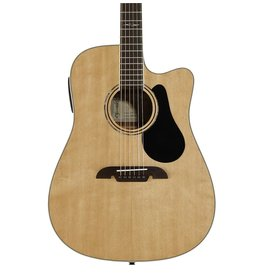 St. Louis Music Alvarez AD60CE Dreadnought Acoustic Electric w/ Cutaway, EQ, and Tuner