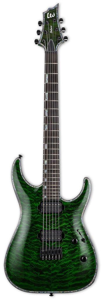 ESP LTD LTD H-1001 QM See Thru Green