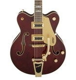 Gretsch G5422TG Electromatic® Hollow Body Double-Cut with Bigsby® and Gold Hardware, Walnut Stain
