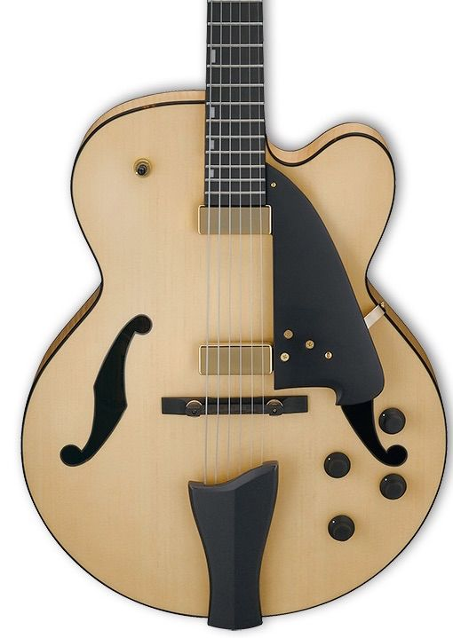 Ibanez AFC Contemporary Archtop 6str Electric Guitar - Natural Flat