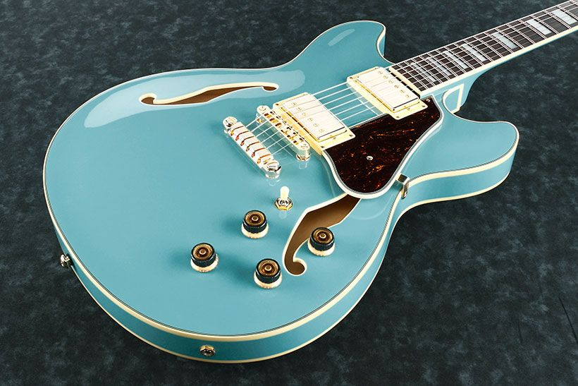 Ibanez AS Artcore 6str Electric Guitar  - Mint Blue