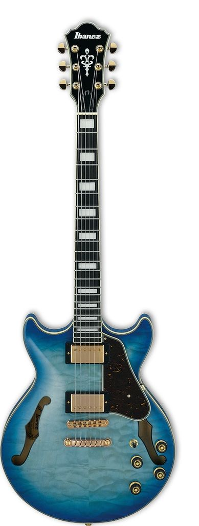 Ibanez AM Artcore Expressionist 6str Electric Guitar - Jet Blue Burst