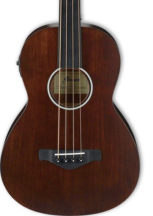 Ibanez Ibanez AVNB1FEBV Short Scale Acoustic Fretless Bass