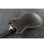 Ibanez AS Artcore 6str Electric Guitar  - Transparent Black Flat