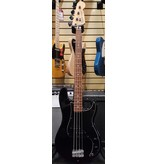 Fender Used Fender 2007 Standard Precision Bass - Black w/ Black Pickguard & Black Speed Knobs