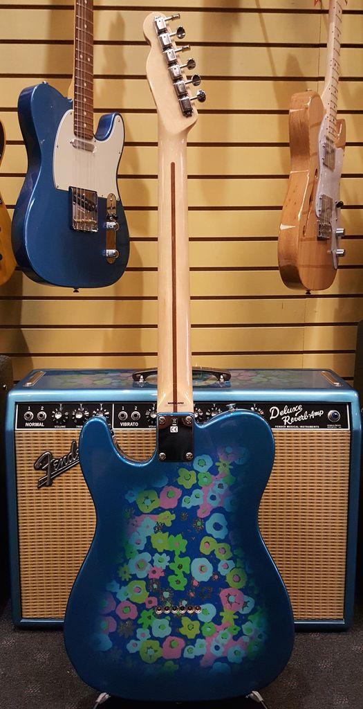 Fender Used Fender 2016 Blue Flower Telecaster Made in Japan