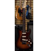Fender Used 2005 Fender American Deluxe Stratocaster - 3 Color Sunburst w/ Tortoiseshell Pickguard & Fender ABS Molded Hardshell Case