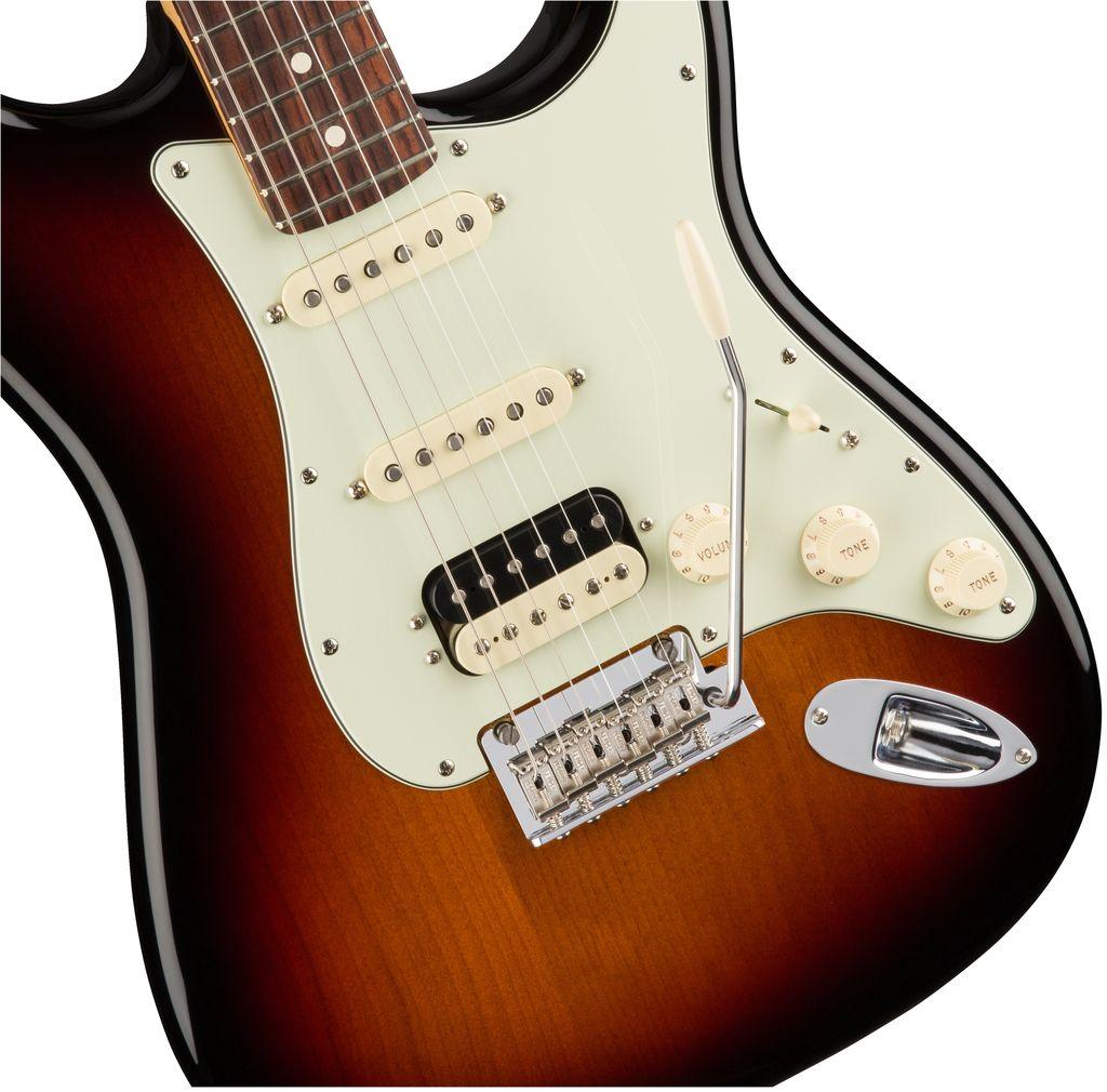 Fender American Pro Stratocaster® HSS ShawBucker™, Rosewood Fingerboard, 3-Color Sunburst