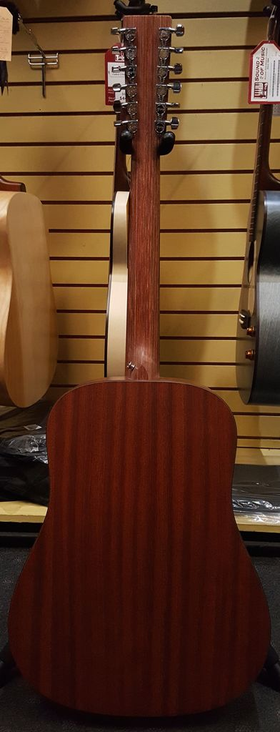 Martin Used Martin D12X1AE 12 String Acoustic-Electric - Natural