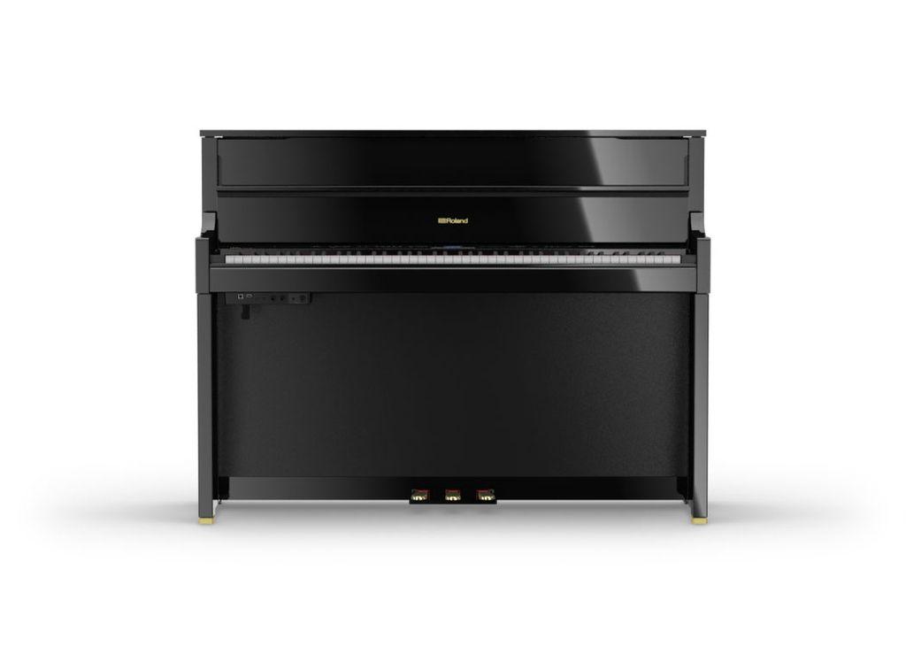 Roland Roland LX-17-PEC SuperNATURAL Modeling Piano w/ stand & bench (polished ebony)