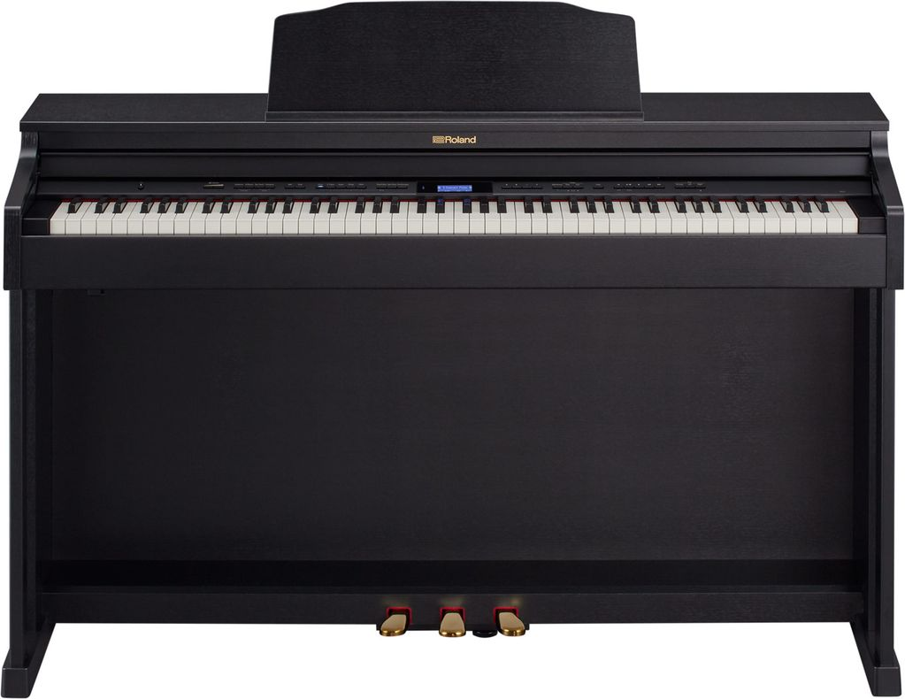 Roland Roland HP-601-CBC SuperNATURAL Piano w/ stand & bench (contempory black)