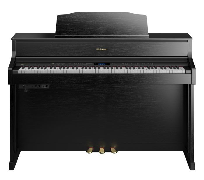 Roland Roland HP-605-CBC SuperNATURAL Modeling Piano w/ stand & bench (contempory black)