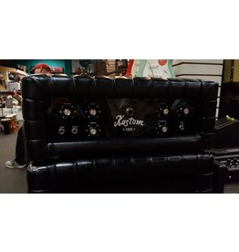 Used Kustom Tuck 'n Roll 100-2 Head and 2x12 Vertical Cabinet - Circa 1969-1970