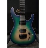 Ibanez Demo Ibanez SIX6FDFM Iron Label S Series - Blue Space Burst