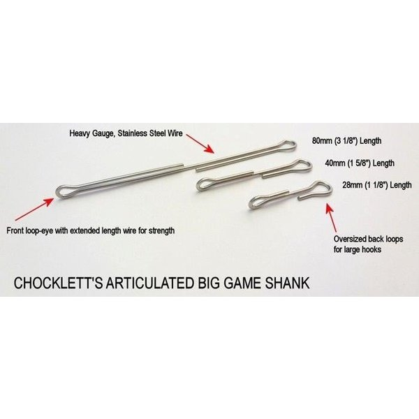 BIG GAME ARTICULATED SHANKS
