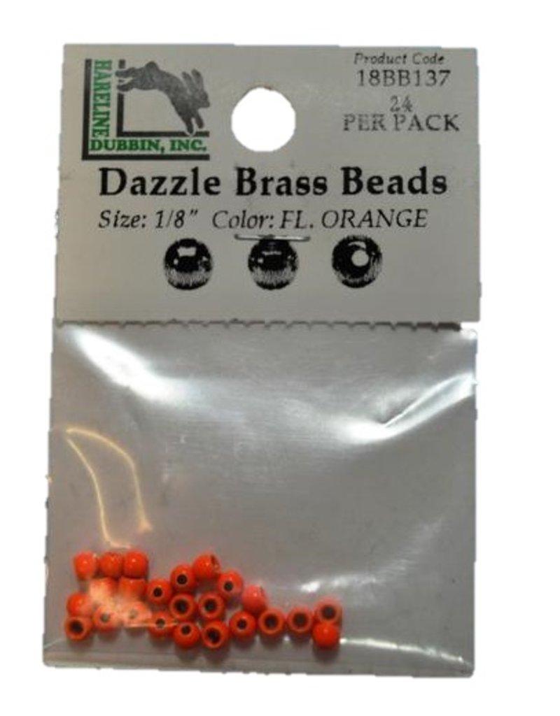 Hareline Dubbin DAZZLE BRASS BEADS 3/32