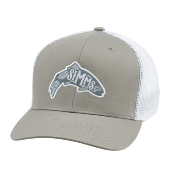 Simms Fishing Products SIMMS FLEXFIT WOODBLOCK TRUCKER