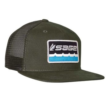 Sage SAGE ON THE WATER TRUCKER HAT