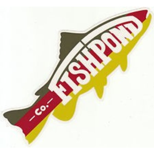 Fishpond FISHPOND TROUT DECAL