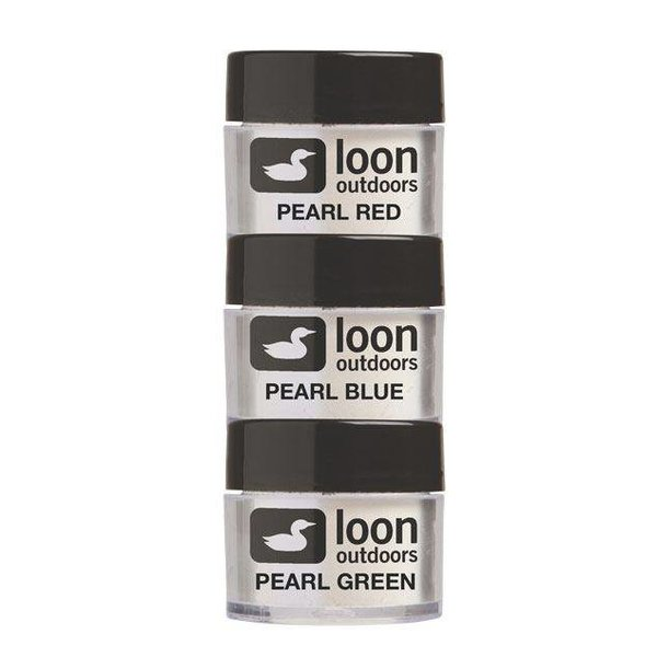 Loon Outdoors LOON FLY TYING POWDERS FLASH SERIES