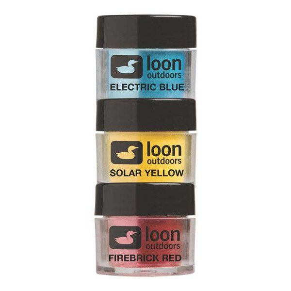 Loon Outdoors LOON FLY TYING POWDERS PRIMARY SERIES