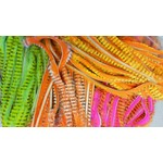 Hareline Dubbin HARELINE TIGER BARRED RABBIT STRIPS
