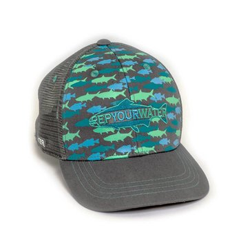 Rep Your Water REP YOUR WATER CAMO HAT Grey OSFM