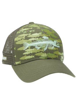 Rep Your Water REP YOUR WATER TROUT CAMO HAT GRN/GRN OSFM