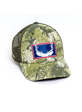 Rep Your Water REP YOUR WATER FOREVER WEST TopoCamo™ Wyoming Mule Deer Hat